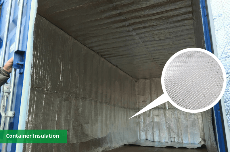 container insulation material