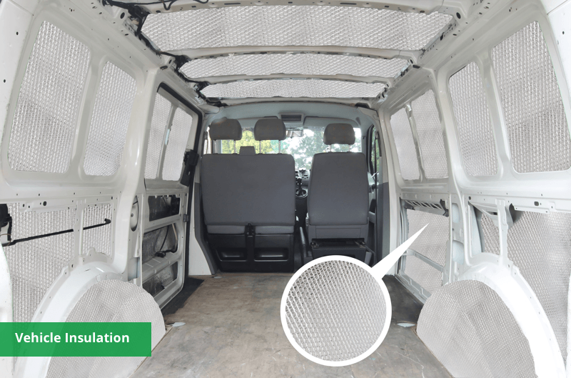 Vehicle insulation material