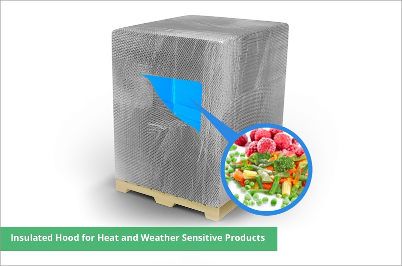 Insulated vegetable container