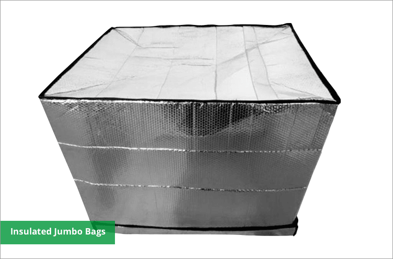 reflective insulated pallet material