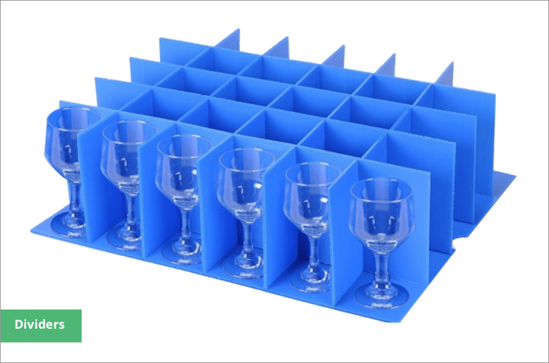 wine glass storage box