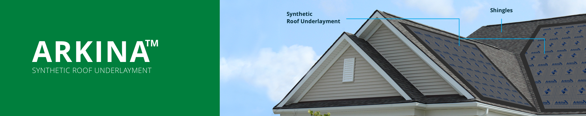 USA roof underlyament