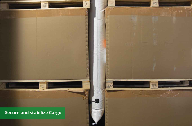 container stuffing bag